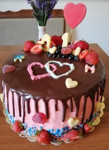 špaldová torta