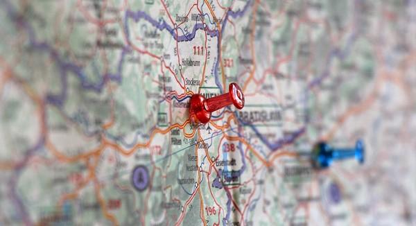 bratislava a okolie na mape