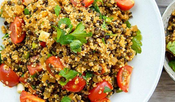 quinoa šalát recept