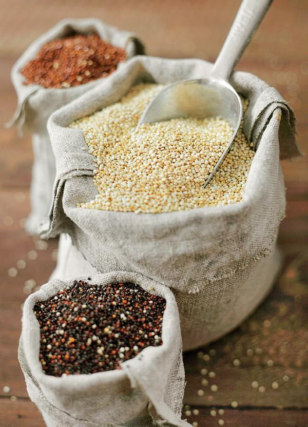 quinoa v troch variantoch