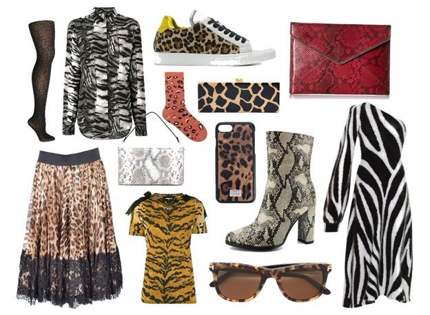 zvieracie vzory - módne trendy na jeseň