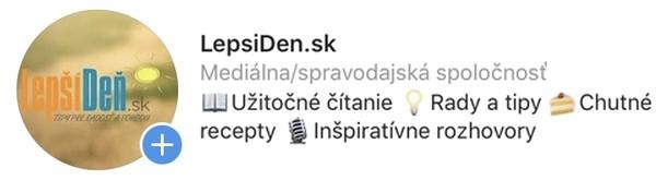 LepsiDen.sk na Instagrame