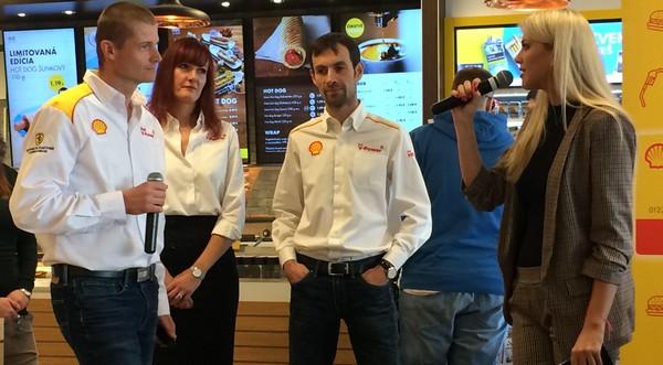 Shell zástupcovia firmy