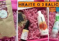 SÚŤAŽ o3 MARK prírodné kozmetické balíčky
