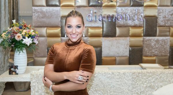 Dominika Cibulková a diamanty