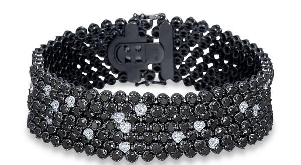 náramok black and white Alo diamonds kolekcia