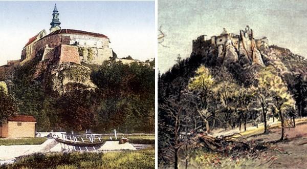 Nitriansky hrad a hrad Gýmeš