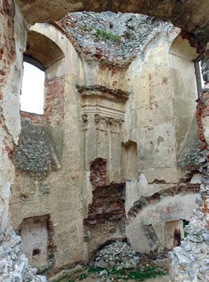 kostol sv Ignaca na hrade Gymes