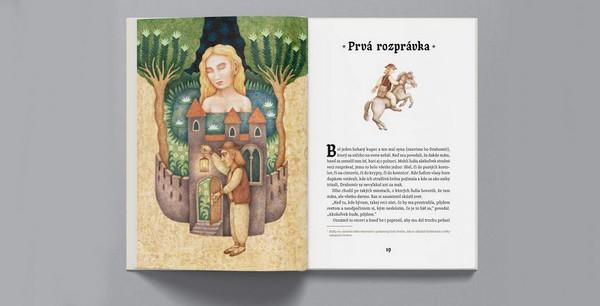 Rozprávky starých Slovákov otvorená kniha