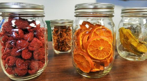 sušenie ovocia a zeleniny