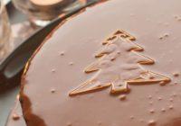 Sviatočná čokoládová torta s mandľami