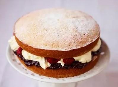 victoria sandwich podľa Jamie Olivera