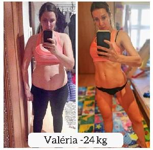 valéria výzva ako schudnúť