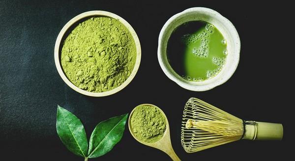 čaj matcha - recept