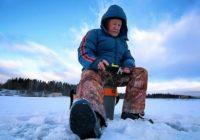 Rybačka v zime na horách môže byť dobrá zábava