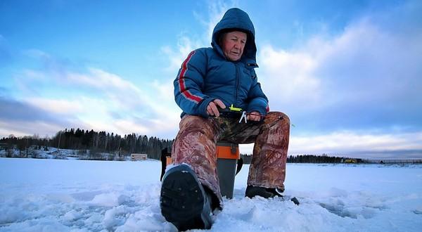rybačka v zime