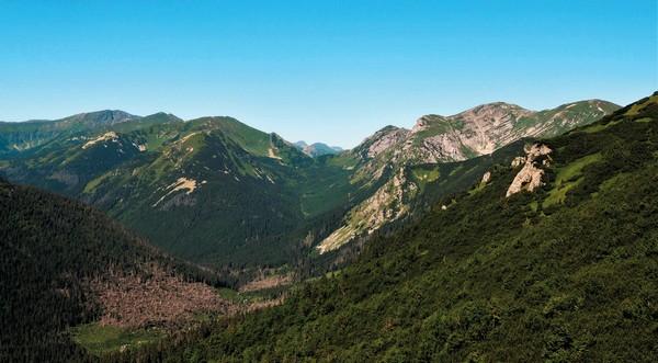 Tichá dolina - tatranské doliny