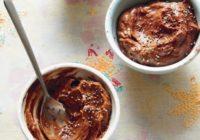 Avokádovo-čokoládová pena. Hriešne lahodný dezert