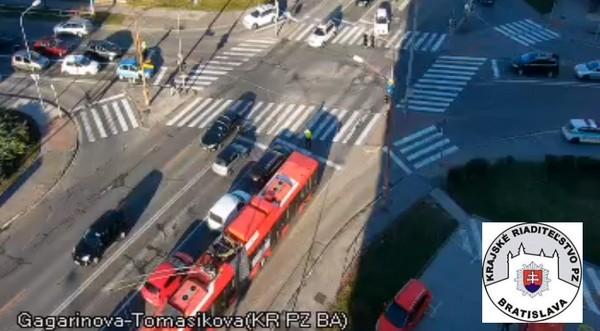 aktuálna doprava v Bratislave live kamery