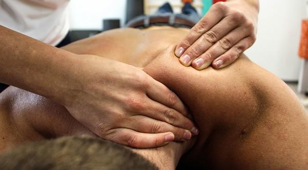 masáž pred športom