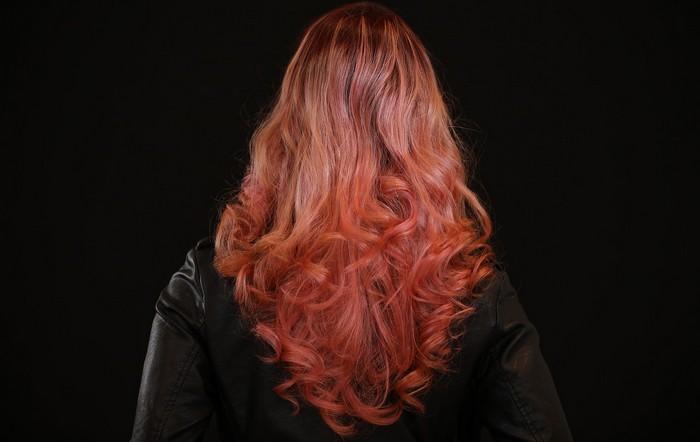 zosvetlenie vlasom ombré
