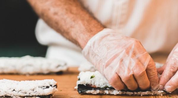 triky do kuchyne sushi