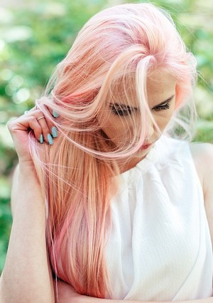 pastelovo-ružová farba