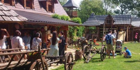 Abeland. Gazdovská dedinka v lesoch Malých Karpát