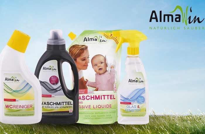 čistiace prostriedky almawin