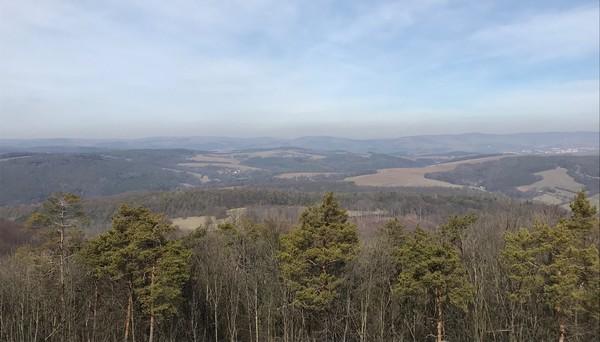 výhľad z Bradla