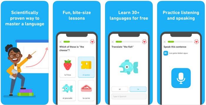duolingo jazyková aplikácia