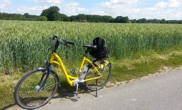 elektrické bicykle do prírody