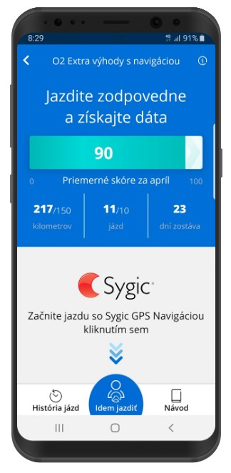 mobilná aplikácia O2
