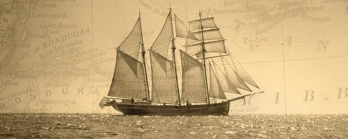 loď z knihy Krajina slobody | Ken Follett
