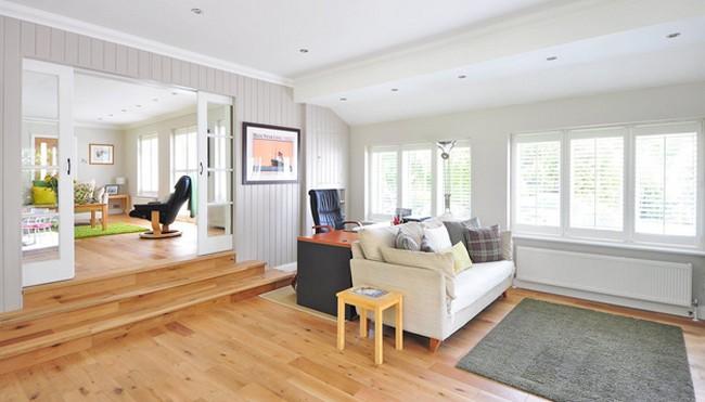 drevo v obývačke | prírodné bývanie