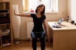 office joga pretiahnutie v kancelárii
