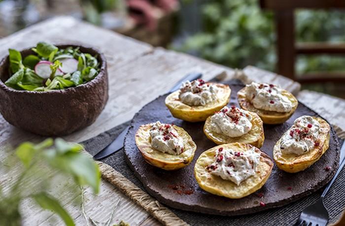 pečené zemiaky recept ochucovadlo podravka natur