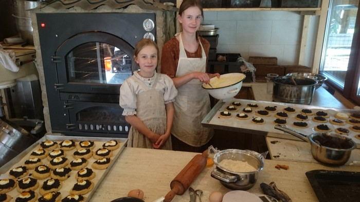 Abeland a pečenie koláčikov