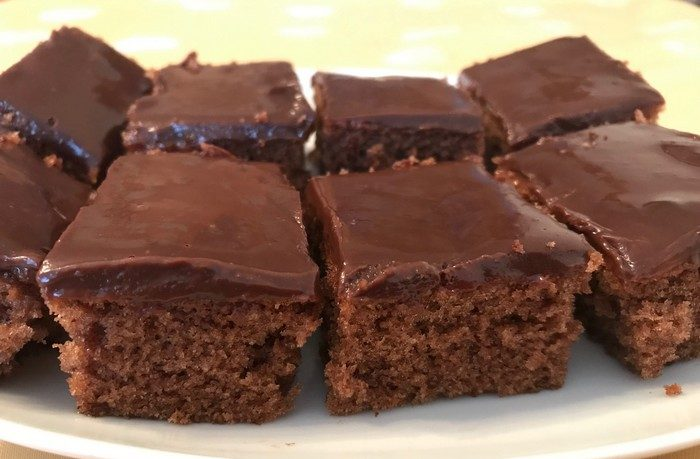 recept na čokoládový koláč