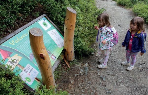 náučný chodník Tatry pre deti