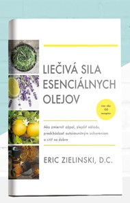 kniha Liečivé účinky esenciálnych olejov
