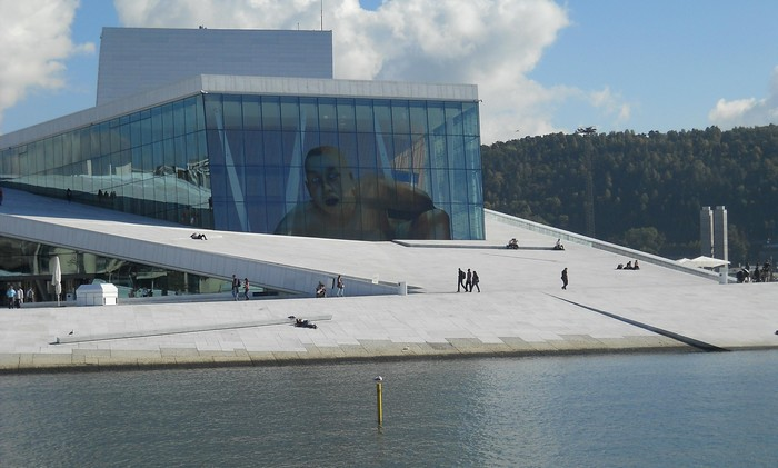 Opera House v Oslo.