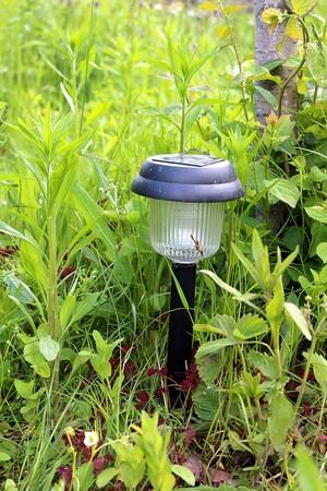 záhradné solárne lampy