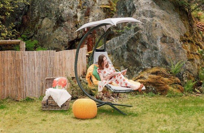 záhrada pre relax a meditáciu