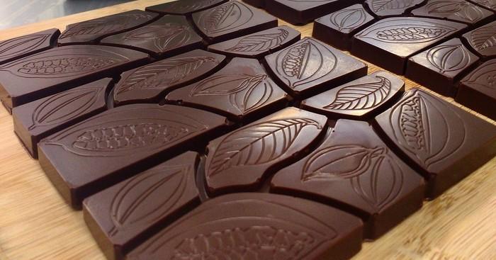 čokoláda v kuchyni