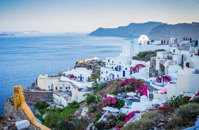 Grécko Santorini