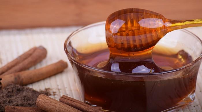 5 pleťových masiek - med