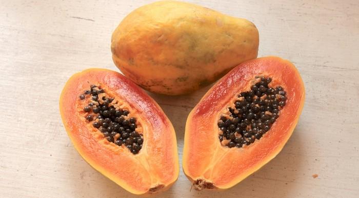 exotické ovocie papája