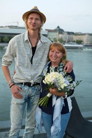 Táňa Keleová-Vasilková a syn Michal