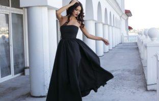 čierna farba šaty